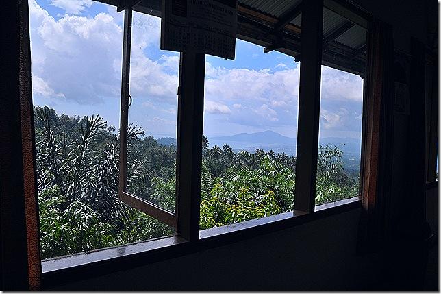 Pemandangan dari RM Tinoor Jaya
