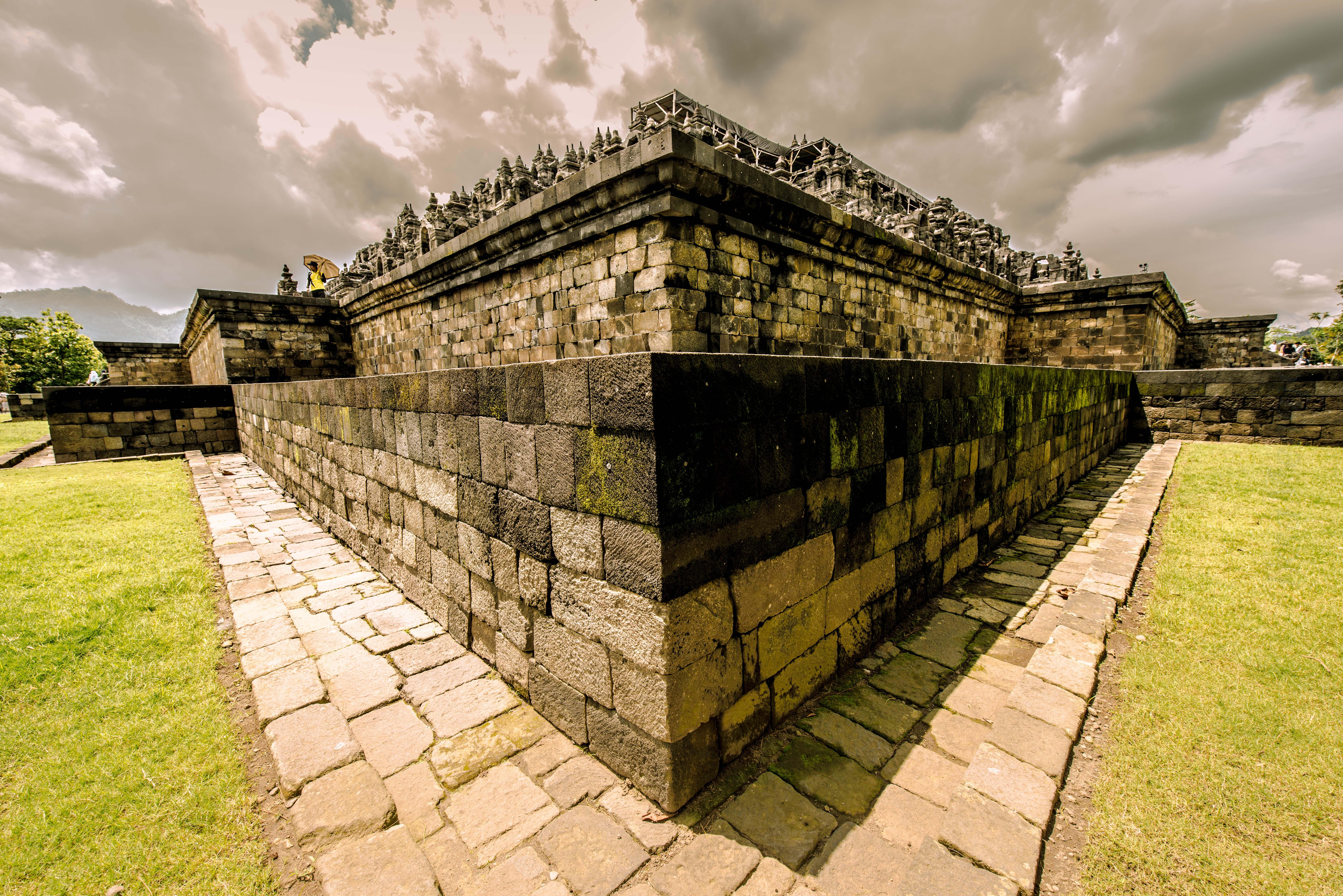 Edge of Borobudur