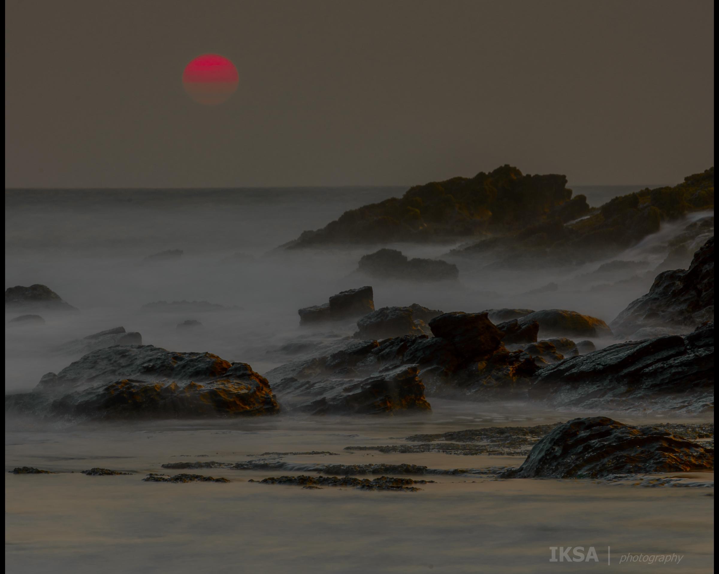 Sunset Di Karang Taraje