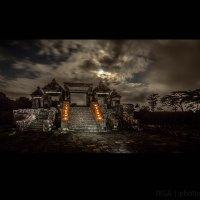 Jelang Purnama Di Candi Ratu Boko