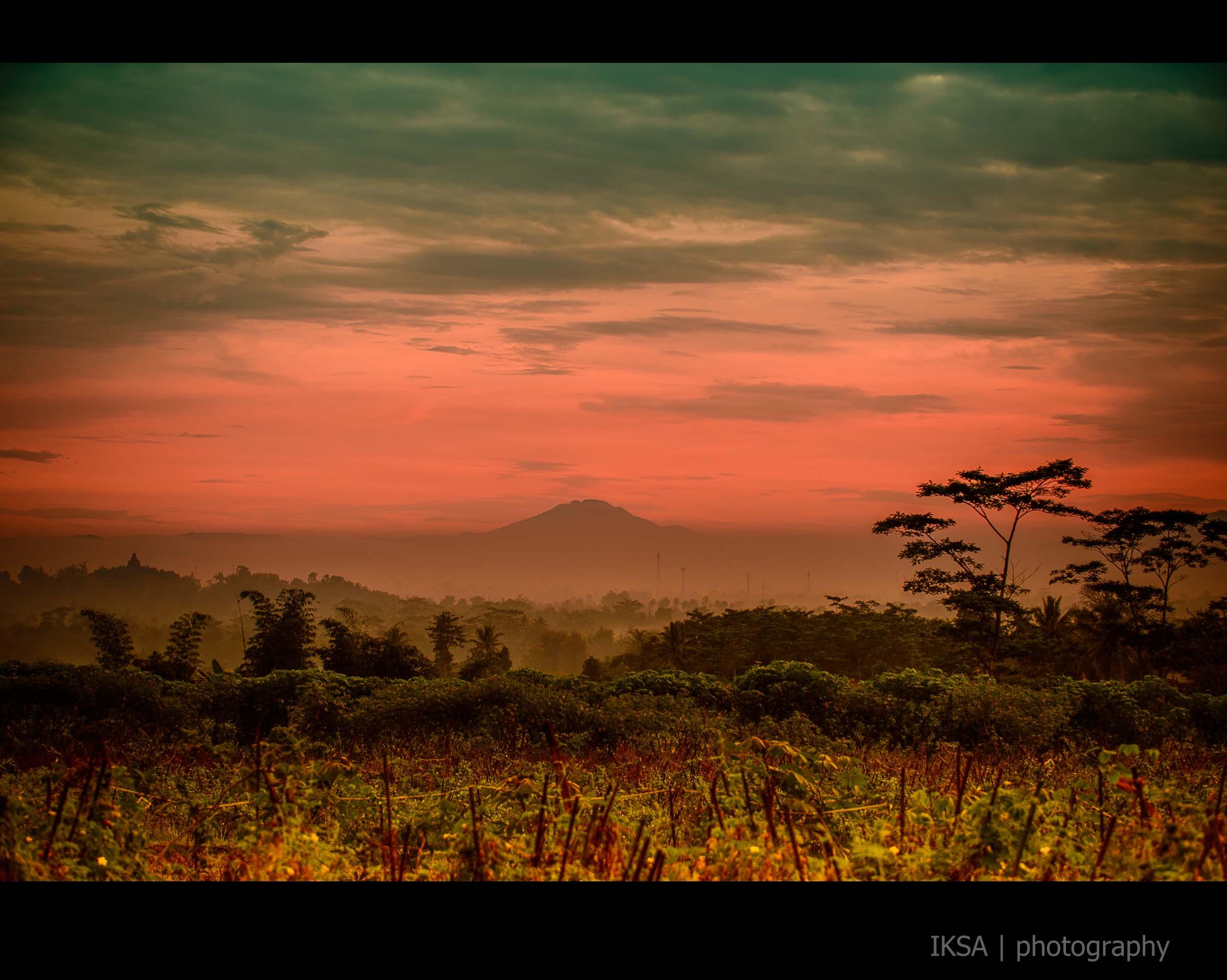 Borobudur Merah