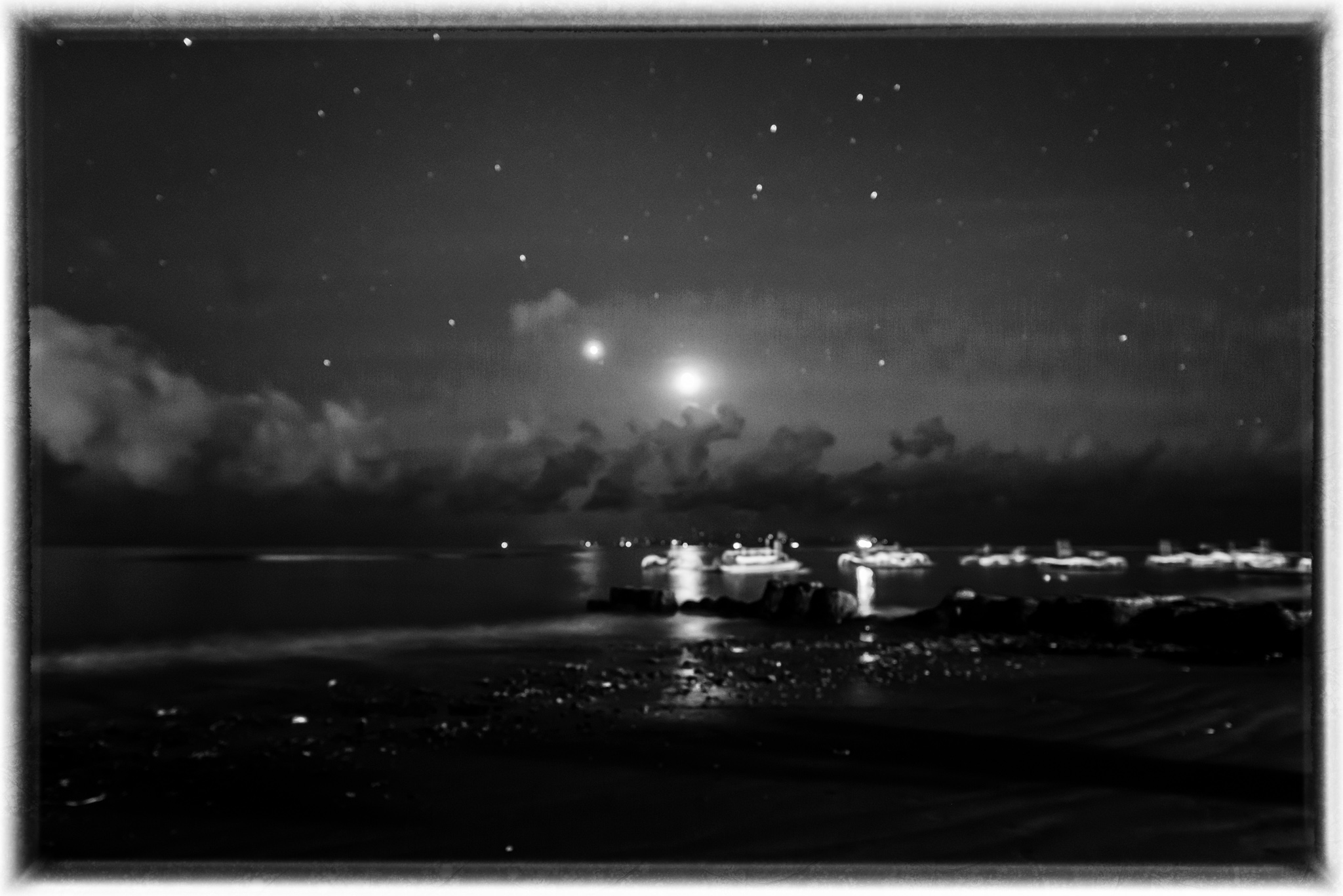 Moon, Stars and Boats