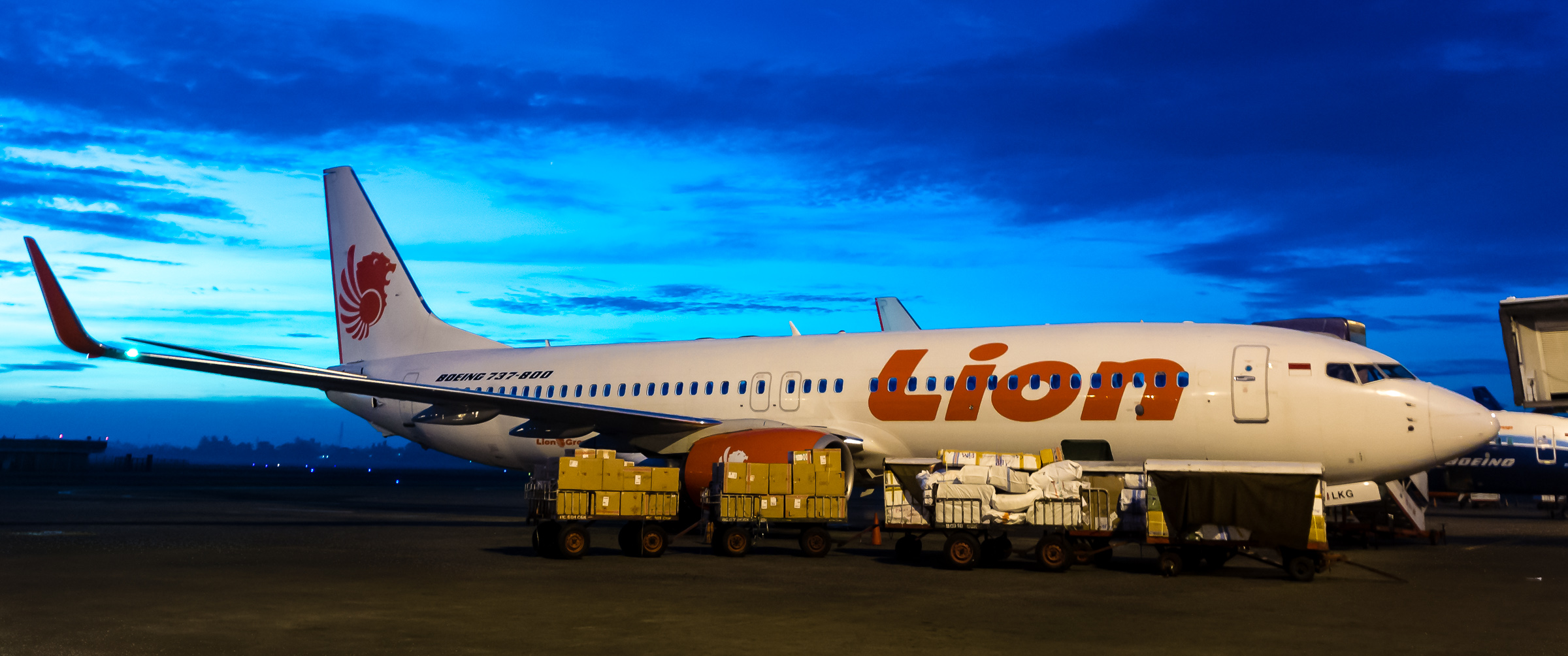 Lion Air - Iksa Menajang