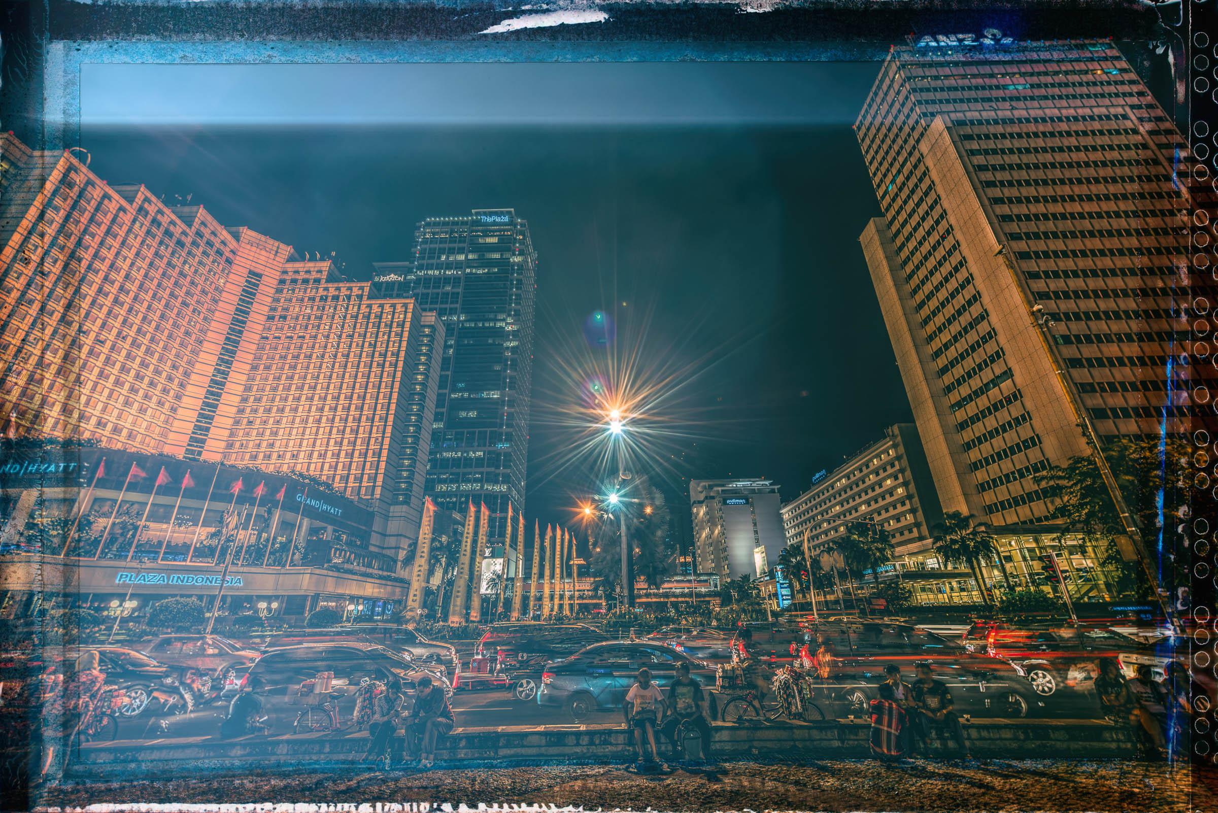 Jakarta HDR Nightscape - Iksa Menajang
