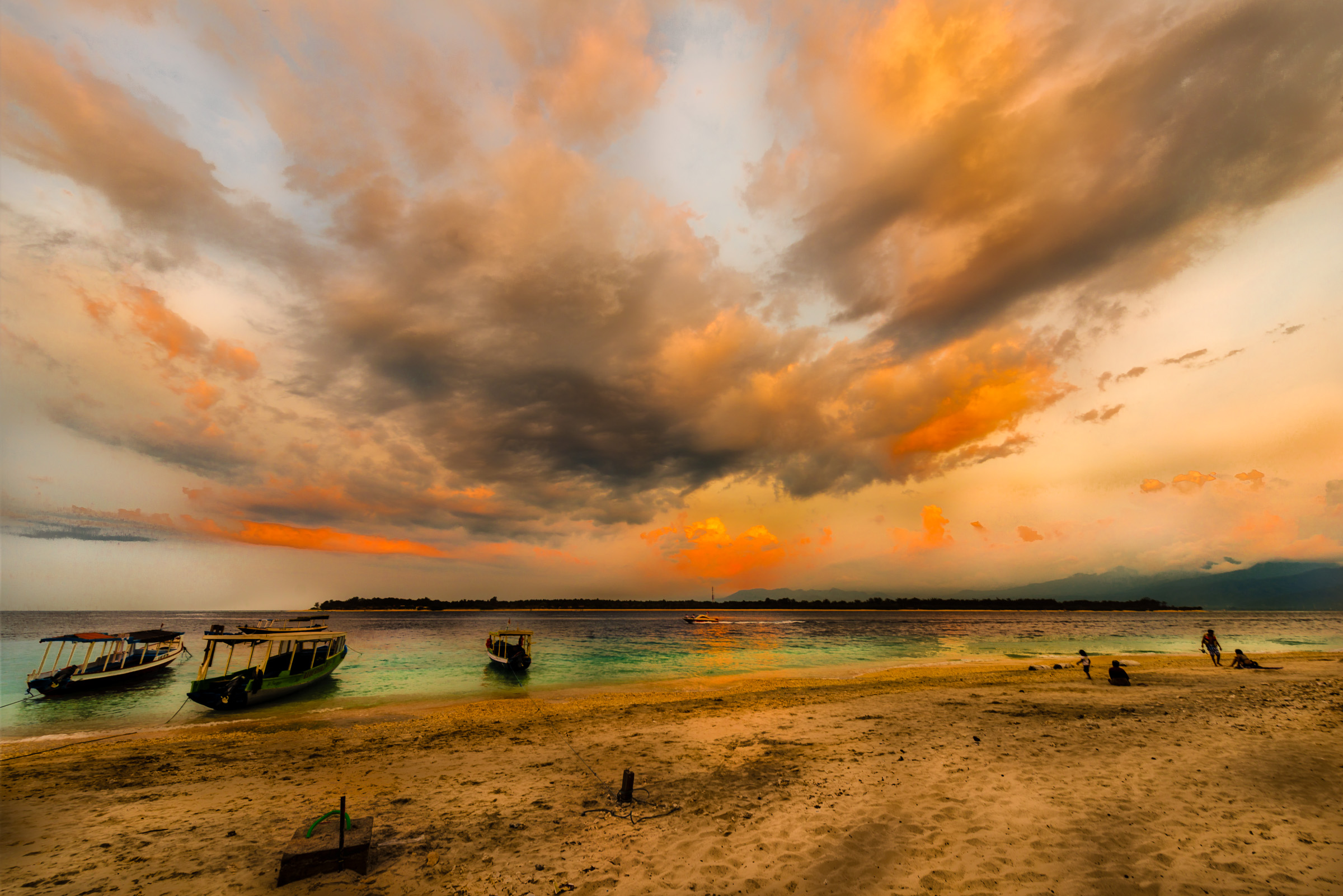 Shore Of Gili Trawangan
