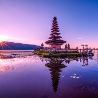 Pura Ulun Danu - At Sunrise
