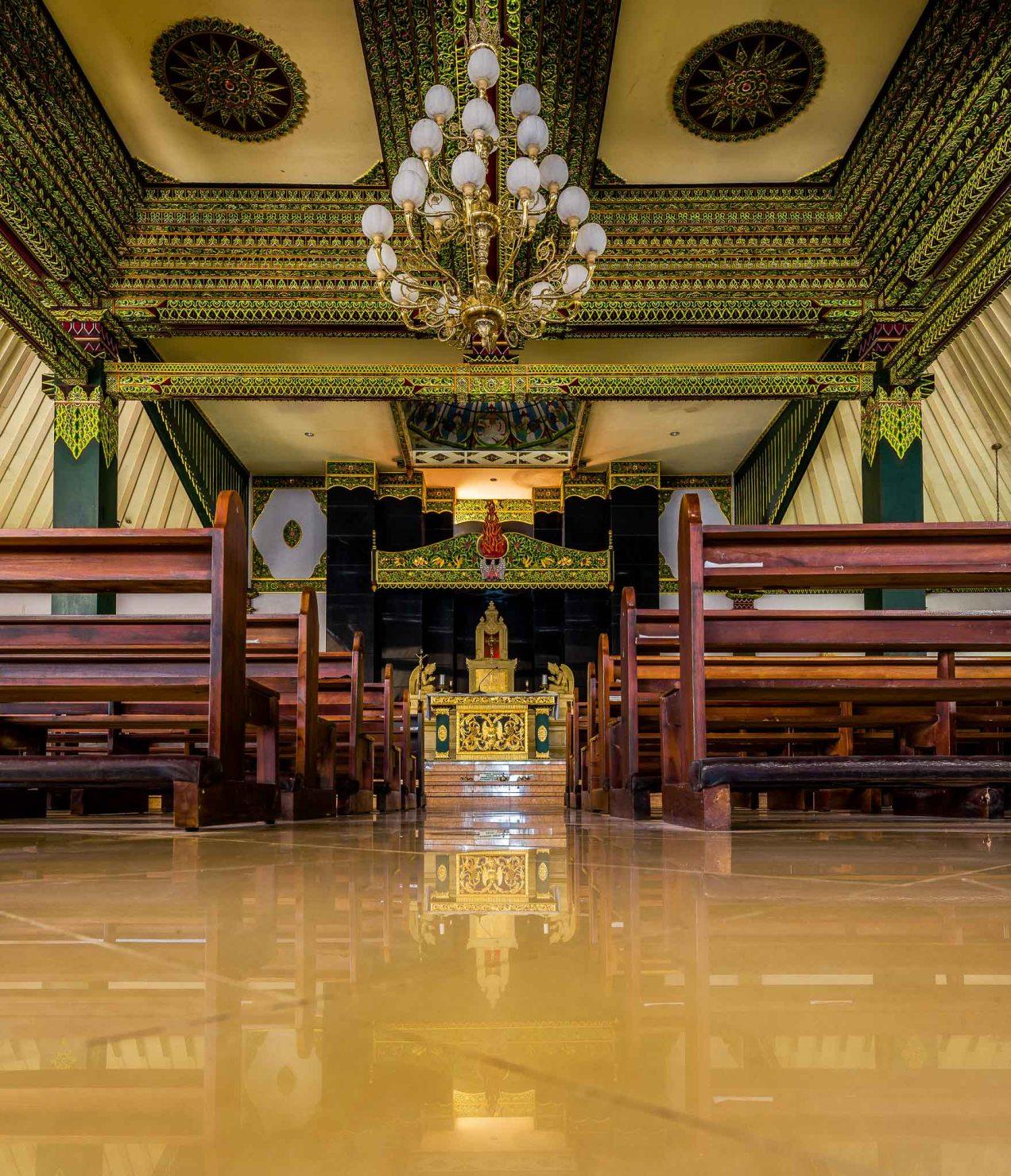Ganjuran Church in HDR