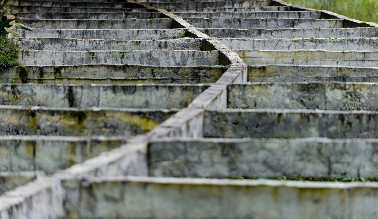 Concrete in Rawa Pening