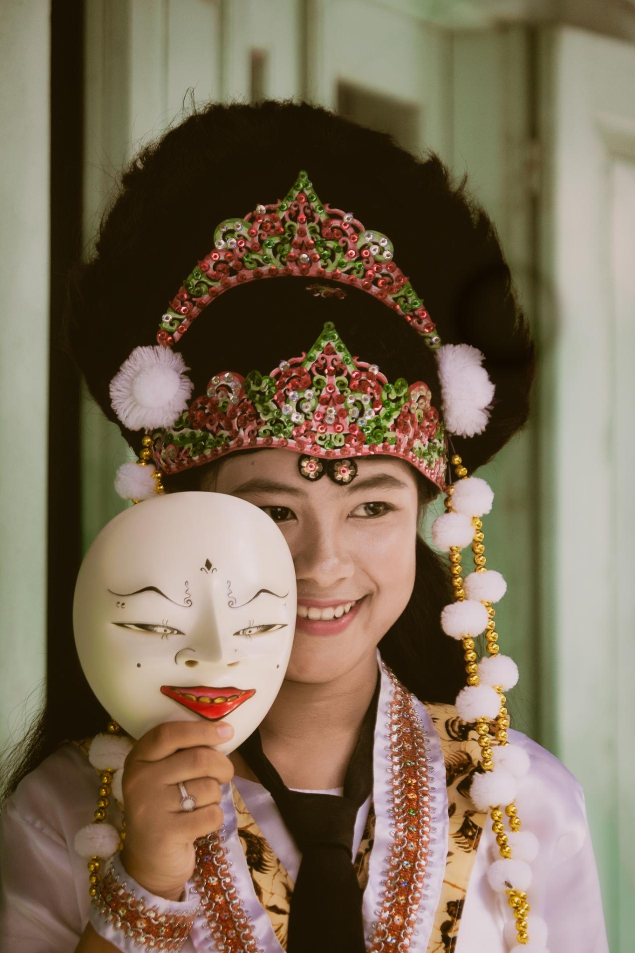 Upik The Panji Mask Dancer