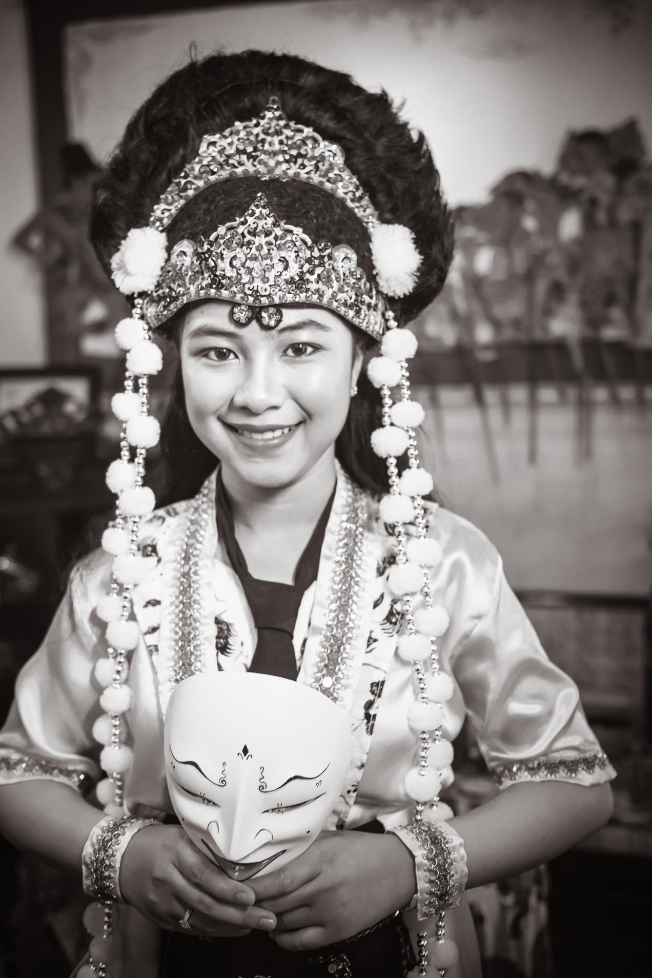 Panji Mask Dancer